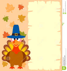 thanksgiving background with turkey stock vector illustration of