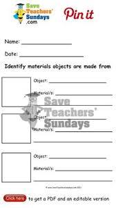 properties of materials worksheet go to http www