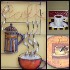 kitchen design ideas coffee themed kitchen wall decor ideas