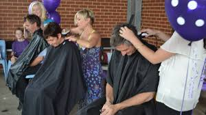 hair shaved to support mandurah student mandurah mail