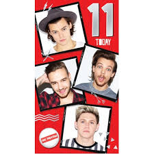 one direction cards one direction age 11 birthday card danilo