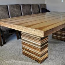 dining room paloma table knock off diy how to build a dining