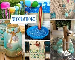 Summer Party Decorations Beach Party Ideas For Kids Summer Party Ideas At Birthday In A Box