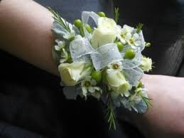 wrist corsage white spray roses wrist corsage in johnsbury vt all about