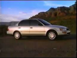 toyota corolla commercial 1994 toyota corolla commercial