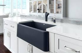 Double Sink Kitchen Size by Apron Black Apron Sink White Kitchen Cabinets Bay Window Black
