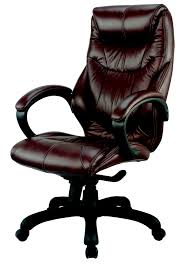 Small Leather Desk Chair Simple Real Leather Office Chair On Small Home Remodel Ideas With