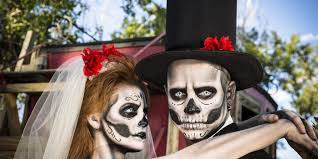scary halloween makeup for men halloween hair keep it from being a nightmare huffpost