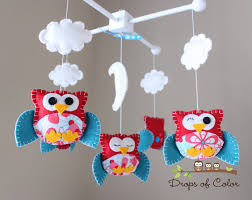 baby crib mobile baby mobile nursery owl mobile crib