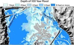 flood map updating flood maps gis