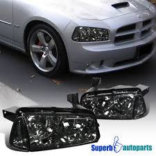 2008 dodge charger lights dodge charger smoked headlights ebay