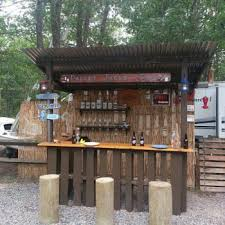 Best Backyard Tiki Bar Images On Pinterest Tiki Bars Bar - Tiki backyard designs