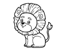 lion coloring coloringcrew