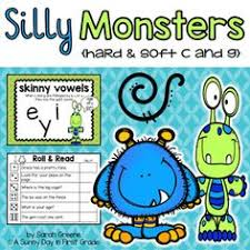 no prep hard and soft c and g pages phonics language arts and