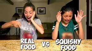 spirit halloween hawaii real food vs squishy food challenge in hawaii youtube
