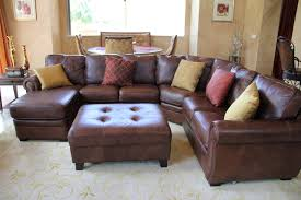 Family Room With Sectional Sofa Brilliant Leather Sectional Sofa Ideas For Pleasure Housebeauty
