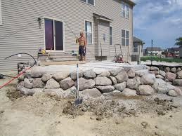 Raised Patio Construction Brick Pavers Canton Plymouth Northville Ann Arbor Patio Patios