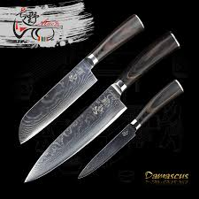 online get cheap damascus steel kitchen knife set aliexpress com