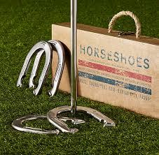 personalized horseshoe set restoration hardware horseshoes set 129 00 g ifts