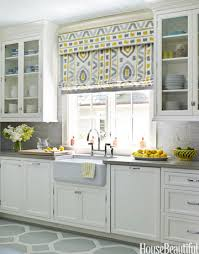 window treatment ideas for kitchen impressive kitchen window curtain ideas 50 window treatment ideas