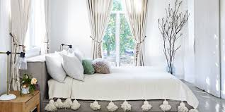 White Bedrooms With A Pop Of Color 35 Stylish Gray Rooms Decorating With Gray