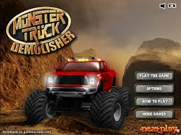 monster truck demolisher hacked cheats hacked games