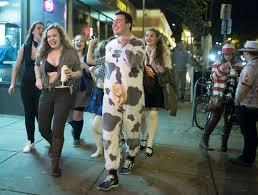 halloween fails halloween in dinkytown u0027breast exam u0027 costumes mischievous t