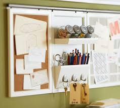Office Wall Organizer Ideas Daily System Office Organizer Pottery Barn