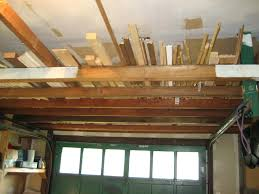lumber storage my rack is 2x4s floor to ceiling and 1garage wood