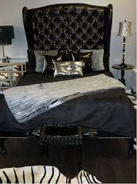 Black Tufted Bed Frame 4098 Black Tufted Crocodile Sleigh Bed Feel Like A Flickr