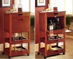 dining room cart home dining room mini portable rolling vintage bar cart wd 2959