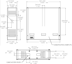 Ceiling Mount Storage by Chief Cma170 Or Cma170w In Ceiling Storage Enclosure