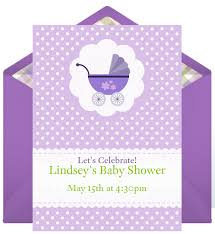 email invitations baby showers