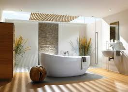 zen decorating archaic white brown colors vessel shape bathtub yellow wall paints