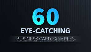 business card design inspiration 60 eye catching exles