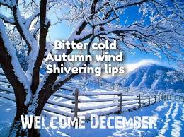 welcome december month quotes quotes for