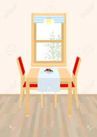 Holiday Living Room Clipart 18 500 Dining Table Stock Illustrations Cliparts And Royalty Free