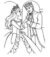 princess prince coloring pages funycoloring