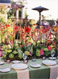 tropical wedding theme colorful santa barbara wedding tropical wedding decor floral