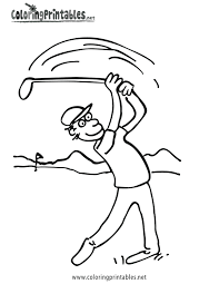 golf coloring pages 5 golf kids printables coloring pages