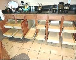 kitchen cabinet sliding shelves kitchen cabinet organization slide outs roll sliding shelves for