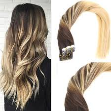 balayage hair extensions balayage chocolate brown mixed remy in human