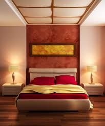 amazing romantic bedroom wall color ideas on brown wooden flooring