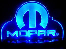 mopar hemi chrysler dodge led lamp night light bedroom game room