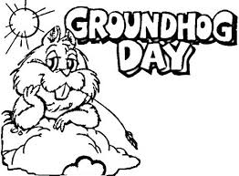 Groundhog Coloring Pages Preschool Page Fabulous Ground Hog Day Groundhog Color Page