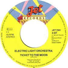 electric light orchestra ticket to the moon 45cat electric light orchestra here is the news ticket to the