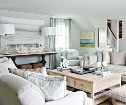 seaside home interiors inspired living room decorating ideas themed room