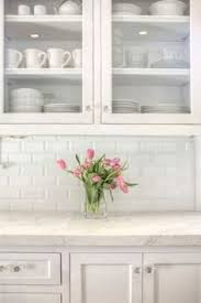 white kitchen with backsplash best 25 beveled subway tile ideas on white subway