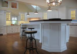 large kitchen table with white pedestal base combined rounded