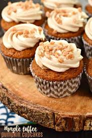maple frosting pumpkin cupcakes with maple and toffee frosting shugary sweets